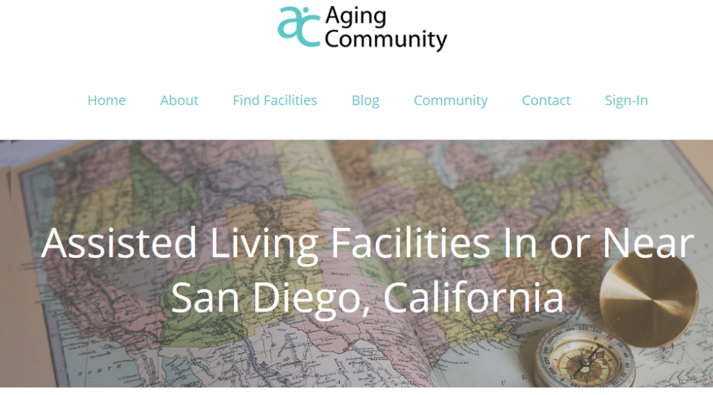 Claim Your Facility on Aging Community
